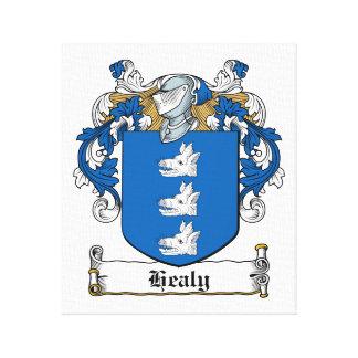 Escudo de la familia de Healy Impresión En Lona