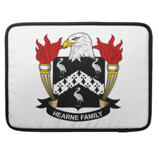 Escudo de la familia de Hearne Funda Para Macbooks