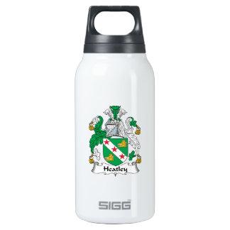 Escudo de la familia de Heatley Botella Isotérmica De Agua