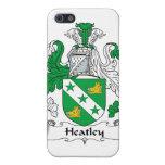 Escudo de la familia de Heatley iPhone 5 Protector
