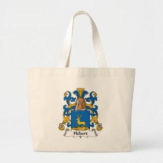 Escudo de la familia de Hebert Bolsa Tela Grande