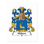 Escudo de la familia de Hebert Postal