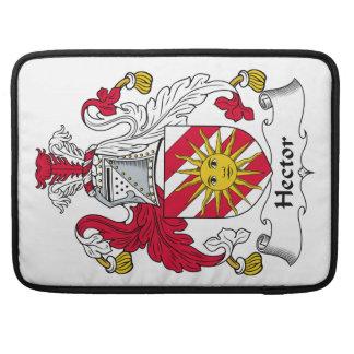 Escudo de la familia de Hector Funda Para Macbooks