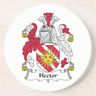 Escudo de la familia de Hector Posavasos Personalizados
