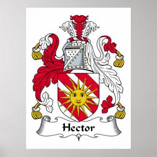 Escudo de la familia de Hector Póster
