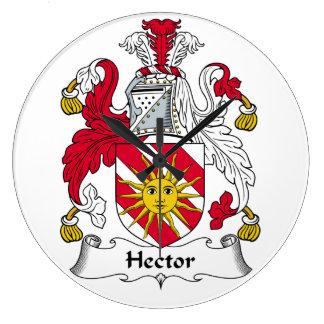 Escudo de la familia de Hector Reloj Redondo Grande