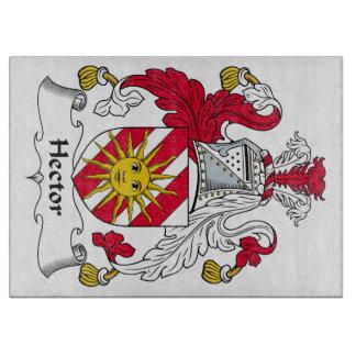 Escudo de la familia de Hector Tablas Para Cortar