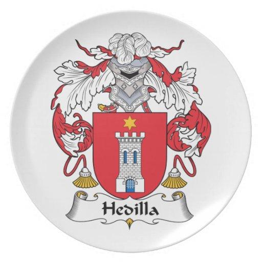 Escudo de la familia de Hedilla Platos
