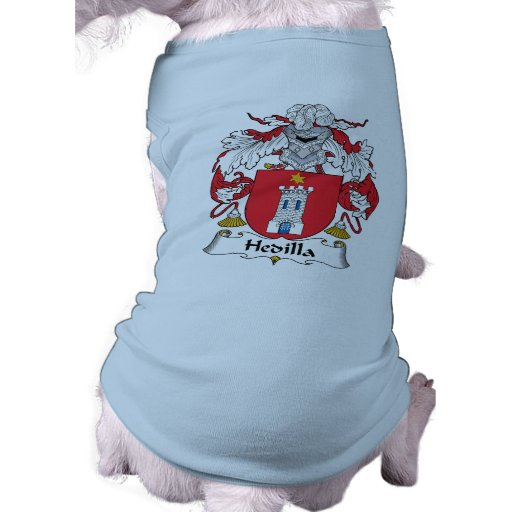 Escudo de la familia de Hedilla Camiseta De Perrito