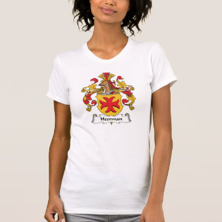Escudo de la familia de Heerman Camisetas
