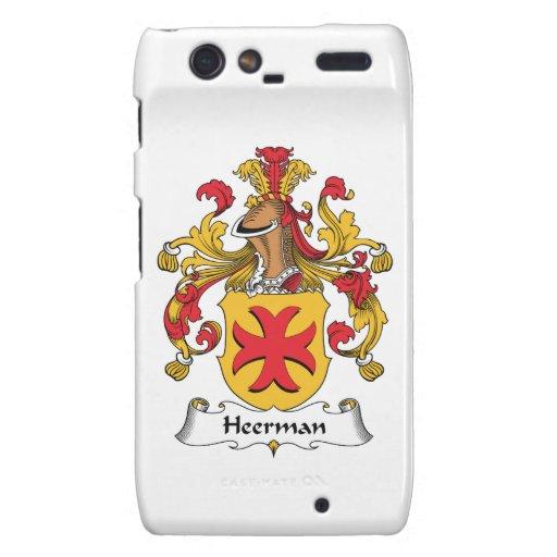 Escudo de la familia de Heerman Droid RAZR Funda