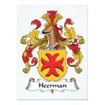 Escudo de la familia de Heerman Comunicados Personales