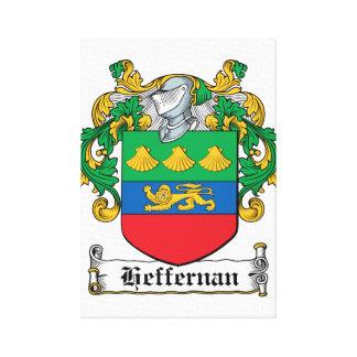 Escudo de la familia de Heffernan Impresiones En Lona