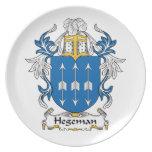 Escudo de la familia de Hegeman Plato De Cena