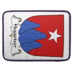 Escudo de la familia de Heggetzer Funda Macbook Pro