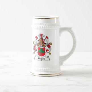 Escudo de la familia de Heiden Jarra De Cerveza