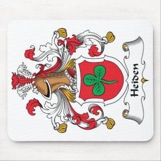 Escudo de la familia de Heiden Mouse Pads