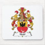 Escudo de la familia de Heidl Tapetes De Raton