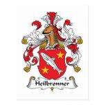 Escudo de la familia de Heilbronner Postal