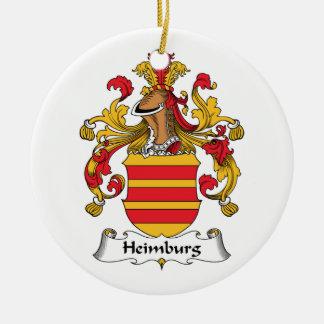 Escudo de la familia de Heimburg Ornamento Para Reyes Magos