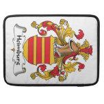 Escudo de la familia de Heimburg Funda Para Macbooks