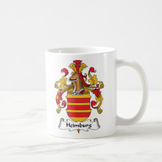 Escudo de la familia de Heimburg Taza