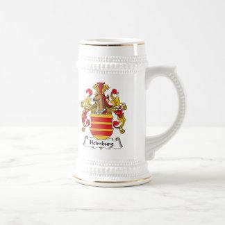 Escudo de la familia de Heimburg Tazas De Café
