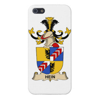 Escudo de la familia de Hein iPhone 5 Cárcasas