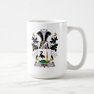 Escudo de la familia de Hein Taza Básica Blanca