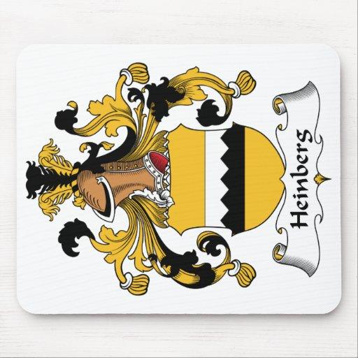 Escudo de la familia de Heinberg Mousepad