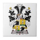 Escudo de la familia de Heintz Azulejos Ceramicos