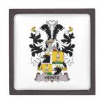 Escudo de la familia de Heintz Caja De Regalo De Calidad