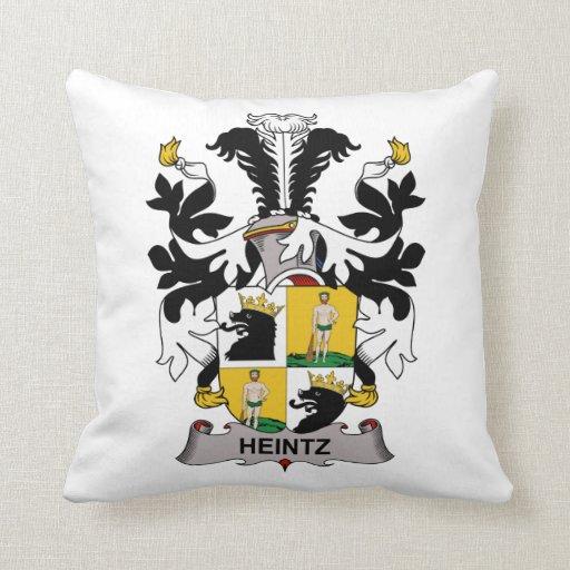 Escudo de la familia de Heintz Cojin
