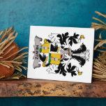 Escudo de la familia de Heintz Placas Para Mostrar