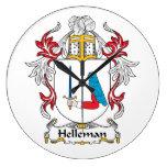 Escudo de la familia de Helleman Reloj