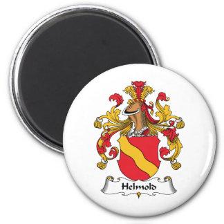 Escudo de la familia de Helmold Imán Para Frigorifico