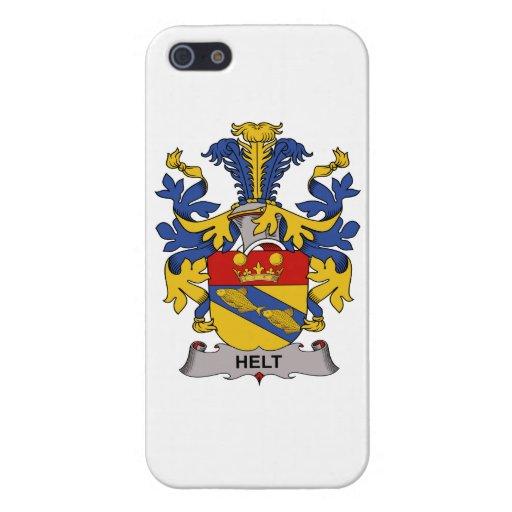 Escudo de la familia de Helt iPhone 5 Cárcasa