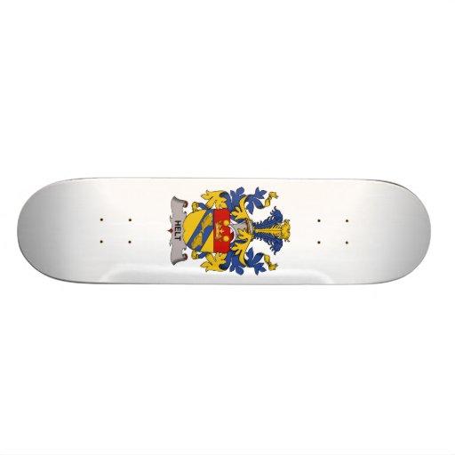 Escudo de la familia de Helt Skateboards