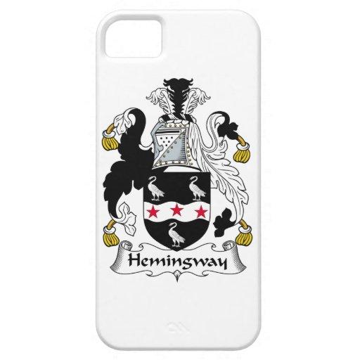 Escudo de la familia de Hemingway iPhone 5 Funda