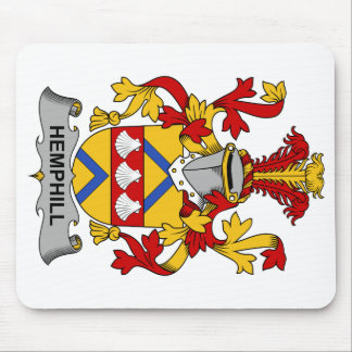 Escudo de la familia de Hemphill Tapete De Ratón