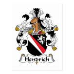 Escudo de la familia de Hendrich Postal