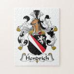 Escudo de la familia de Hendrich Puzzle