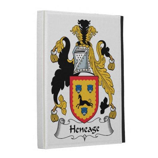 Escudo de la familia de Heneage