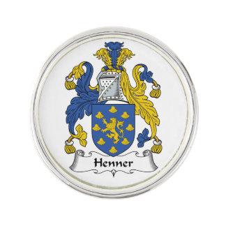 Escudo de la familia de Henner Pin
