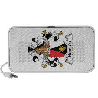 Escudo de la familia de Hennicke iPod Altavoces