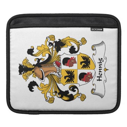 Escudo de la familia de Hennig Fundas Para iPads