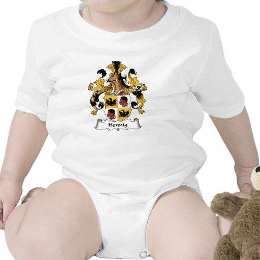 Escudo de la familia de Hennig Trajes De Bebé