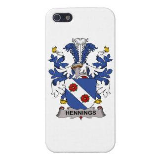 Escudo de la familia de Hennings iPhone 5 Cárcasa