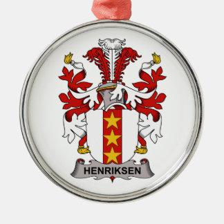 Escudo de la familia de Henriksen Adorno De Navidad