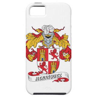 Escudo de la familia de Henriquez iPhone 5 Case-Mate Funda